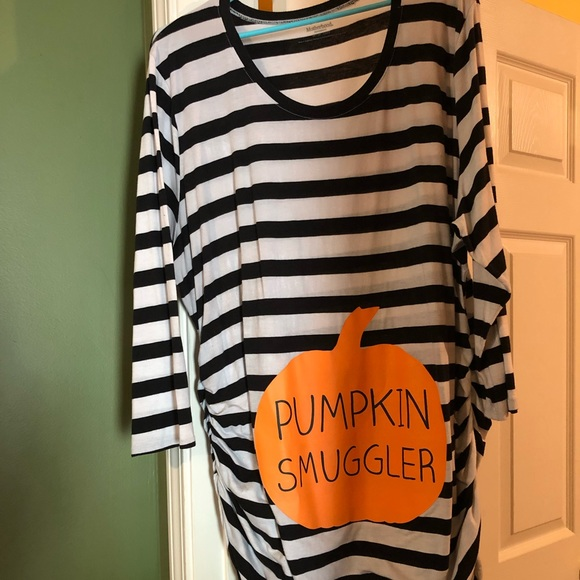 Motherhood Maternity Tops - Maternity - Pumpkin Smuggler Shirt